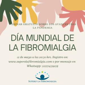 Invitación al webinar de fibromialgia